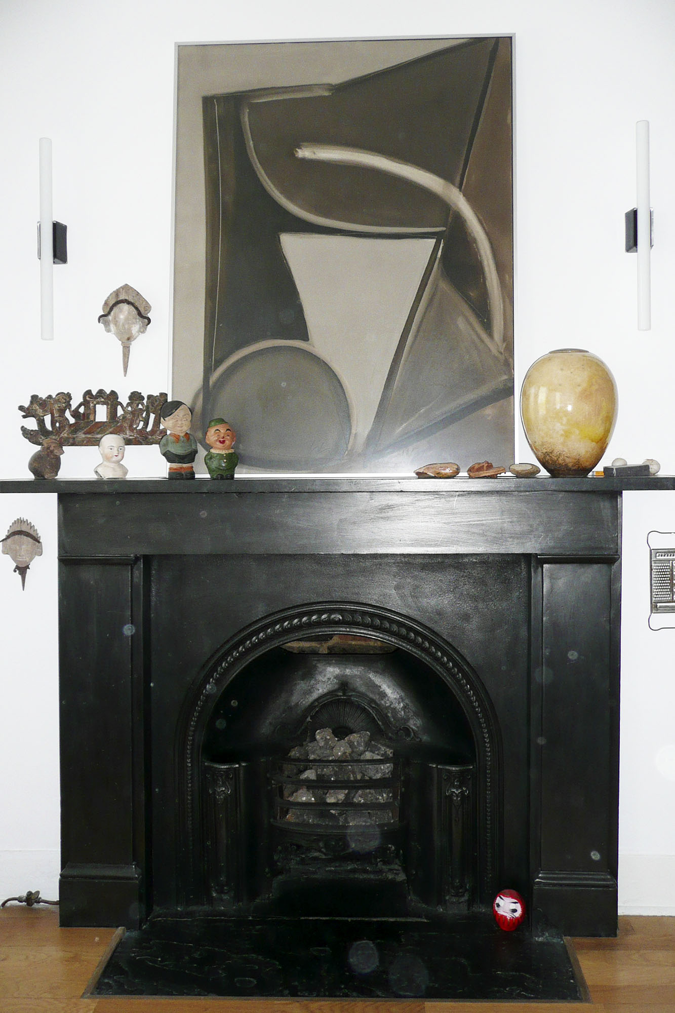 - marchini-architecture.com, - Clapham, - fireplace