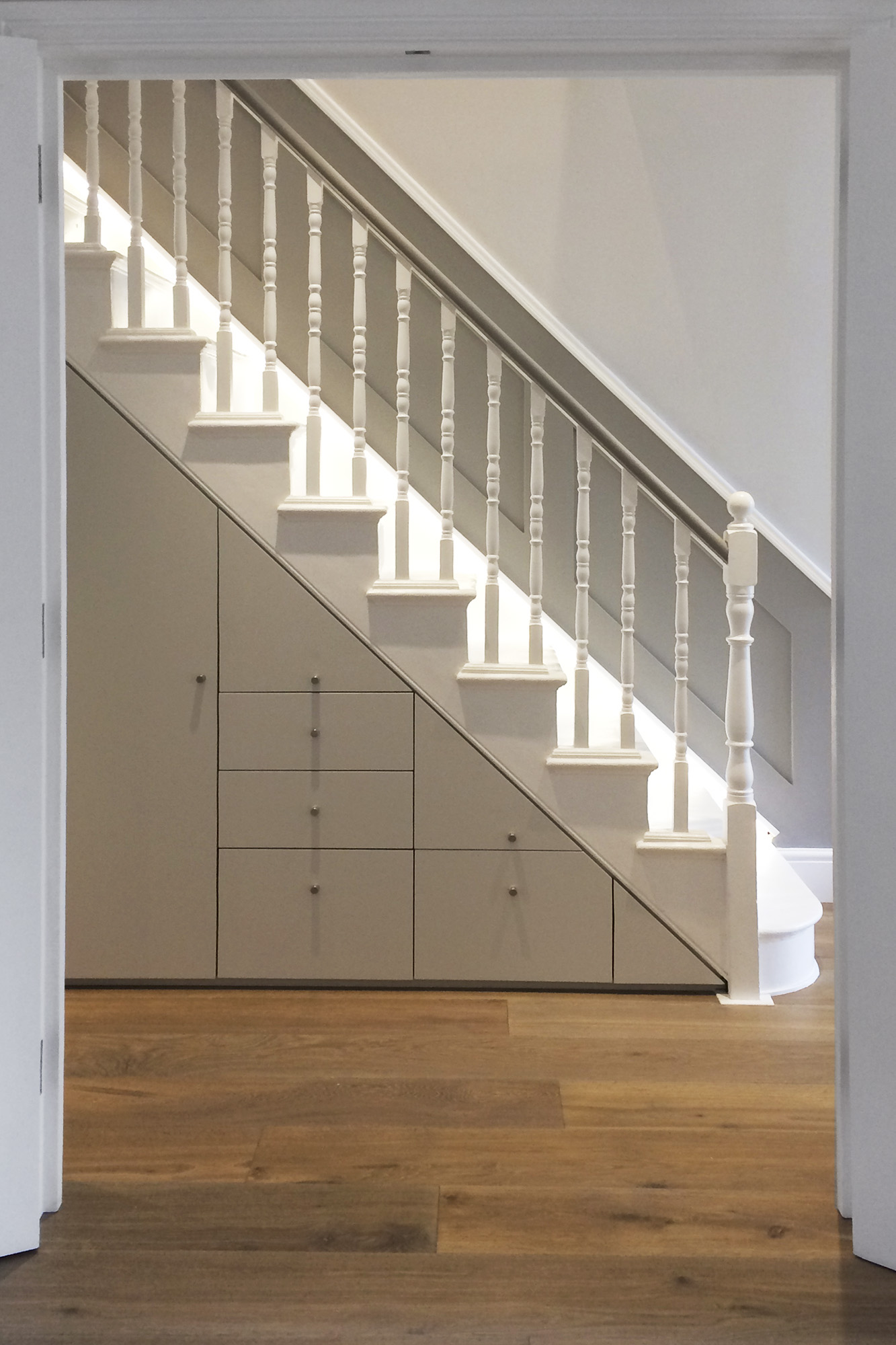 - marchini-architecture.com, - under stair storage, - Putney