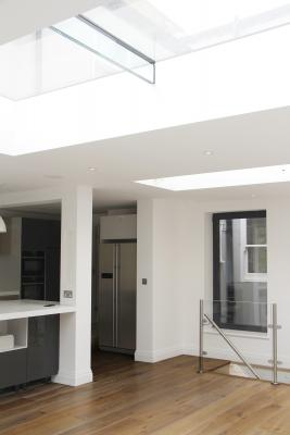 - marchini-architecture.com, - kitchen, - kitchen skylight, - skylight, - Putney