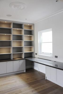 - marchini-architecture.com, - study, - study joinery, - Putney