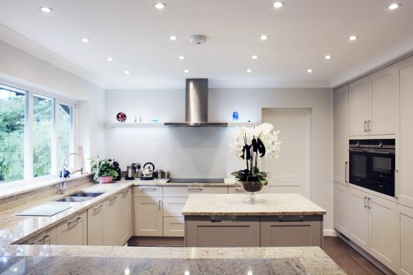 - marchini-architecture.com, - Woking, - extension, - contemporary kitchen, - kitchen island