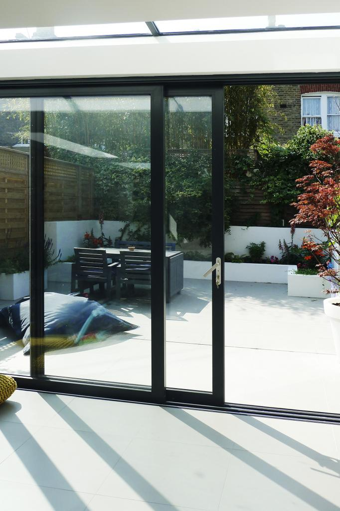- marchini-architecture.com, - Balham, - rear extension, - side extension, - contemporary garden, - sliding doors