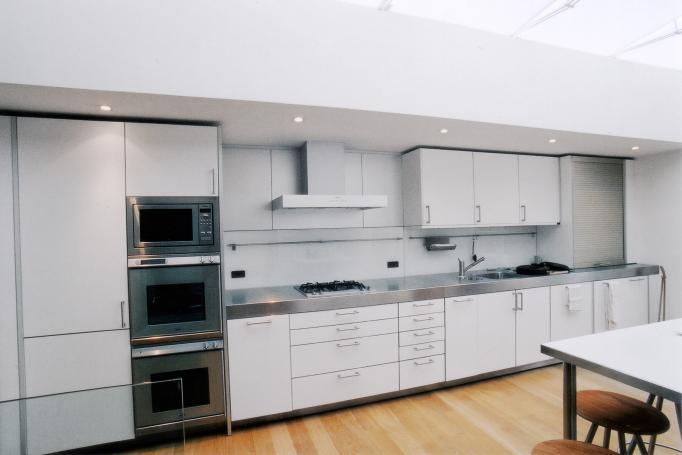- marchini-architecture.com, - Barnes, - basement extension, - contemporary interior, - Bulthaup kitchen