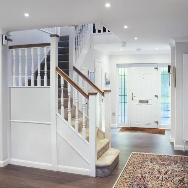 - marchini-architecture.com, - Woking, - extension, - open staircase